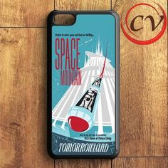 Poster Space Mountain iPhone 5C Case