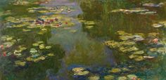 Special Exhibition Gallery: Double Take: From Monet to Lichtenstein: Claude Monet (French, 1840-1926). Le Bassin au Nympheas, 1919.