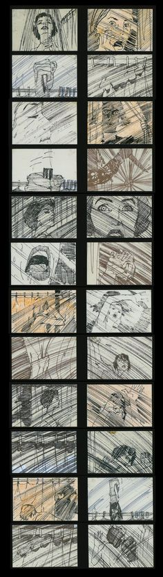 Storyboards from Famous Movies (pic #1)