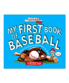 Look at this #zulilyfind! My First Book of Baseball: A Rookie Book Hardcover by TIME For Kids #zulilyfinds