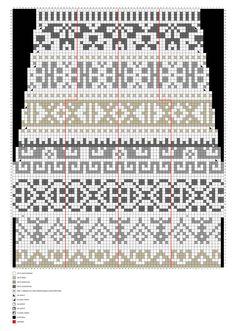 Kalevalan kaikuja -villasukat – Merja Ojanperän ohje | Meillä kotona Knitting Charts, Knitting Stitches, Knitting Socks, Knitting Patterns, Tapestry Crochet, Knit Crochet, Fair Isle Chart, Wool Socks, Designer Socks