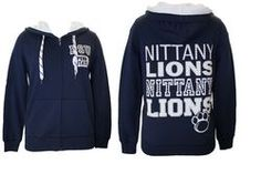 Penn State Womens Star Studded Hooded Sweatshirt Nittany Lions (PSU)