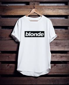 Blonde Frank Ocean T Shirt  Blond Album Apparel  100% by OcnurShop                                                                                                                                                                                 More