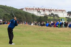 TURNBERRY, SCOTLAND - JULY 29:  Fred Couples of the United States in action during the final round of the Senior Open Championship.