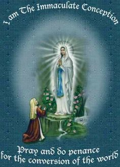 """I AM THE IMMACULATE CONCEPTION   Keeping It Catholic - The Blog!: """"I am the Immaculate Conception"""""""