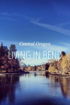 Living in Bend, Oregon by Rachel Follett on Steller #steller