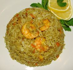 Rice With Carrot, Lemon, Onion And Mint Recipe — Dishmaps