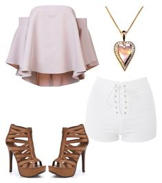 """""""Say hello"""" by mlilsw on Polyvore featuring Milly, Topshop and Chinese Laundry"""