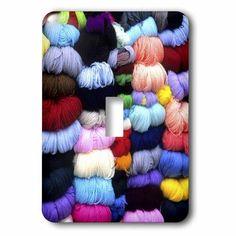 3dRose Wool and yarn textiles, Cuzco, Peru - SA17 BBA0053 - Bill Bachmann, Double Toggle Switch