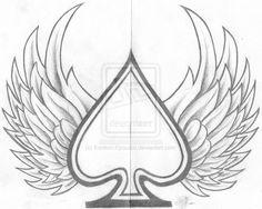 ace of spades design by konton kyoudai