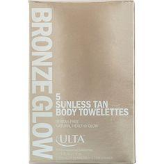 ULTABronze Glow Sunless Tan Body Towelettes 5 Pk