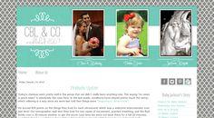 Blogger Custom Blog Design - CBL & CO