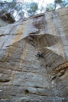 A beautiful line at Red River Gorge (7 Years of climbing - Imgur)