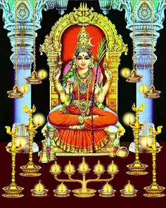 Get relief from all debts and remove malefic effects of Mercury by worshipping Dasa Maha vidya Tripura Sundari on propitious Durgashtami day. Durga Images, Lakshmi Images, Lord Krishna Images, Divine Goddess, Mother Goddess, Durga Goddess, Shiva Art, Hindu Art, God Pictures