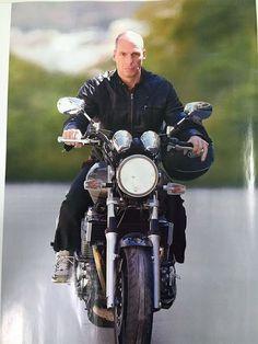 Yanis Varoufakis: A Greek warrior sets sights on a new battle - Greek Warrior, Battle, Bike, Consideration, Hui, Celebs, People, Motorbikes, Politics