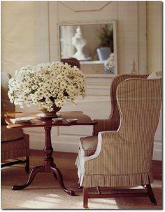 Making Summer Slipcovers For Your Upholstered Furniture- Martha Stewart's Furniture  2