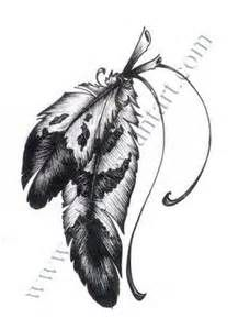 Feather Tattoo- bring out my native American Indian in me