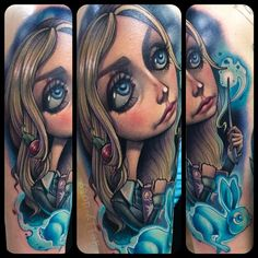 kellydotylovessoup's photo on Instagram Kelly Doty tattoo of Luna Lovegood. Brilliant.