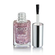Esmalte de Uñas con Glitter: Digital Nail Lacquer - KIKO Make Up Milano
