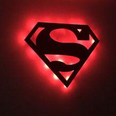 Süperman Gece Lambası - Aydınlatma 352762 | zet.com