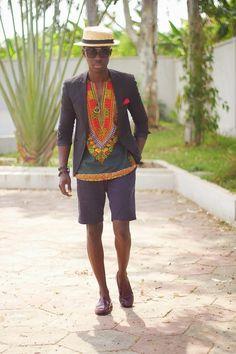 Tendance: mille et une manières de porter la tunique dashiki - Pagnifik
