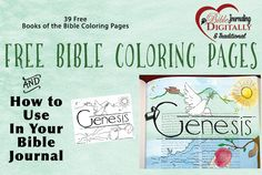 This beautiful collage shows the free Old Testament coloring pages for the Ministry to Children website created by Mandy Groce . You can download a PDF document or  high resolution JPEG file for each of the 39 OT Bible books. Directions and supplies for three ways to use these in your Bible Journal are listed below (please share). Want … Read more...