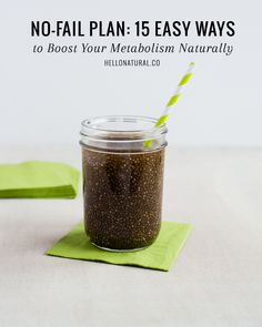 15 Ways to Boost Metabolism Naturally