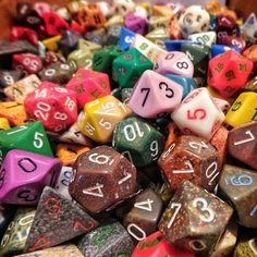 MTG Colorful dices just like sweet candy