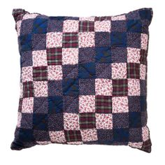 Patch Things Up - A.P.C Quilted Pillow