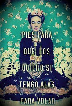 ¡La #frase de la semana, con Frida Kahlo!