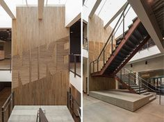 Nike Wood Attribute Wall interior design ideas
