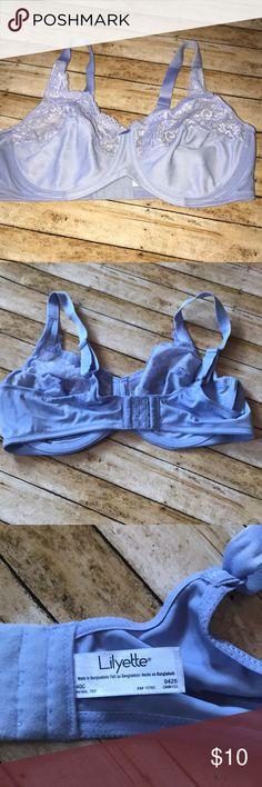 NWOT lilyette bra Pastel purple bra size 40c lilyette Intimates & Sleepwear Bras