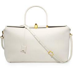 TOM FORD India Medium Leather Satchel Bag (57,000 MXN) ❤ liked on ...
