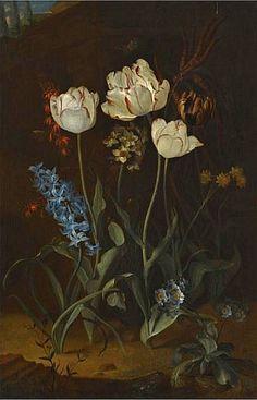 Голландский художник – мастер цветочного натюрморта Coenraet Roepel (1678-1748). - Журнал обо всём