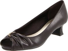 Easy Street Women's Lunar II Open-Toe Pump
