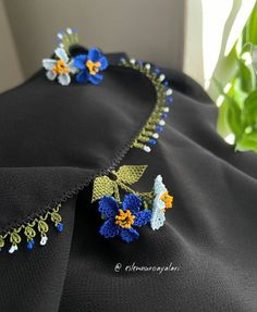 Crochet Necklace, Brooch, Baby, Embroidery, Fashion, Templates, Tricot, Weaving Patterns, Knitting Charts