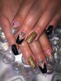 Glitzer Nails