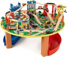 Osta KidKraft Junarata City Explorer Pöytä | Lelut Leluautot & Ajoneuvot | Jollyroom