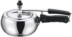 Vinod 2Liter Aluminum Inner Lid Pressure Cooker Small Silver *** Check out the image by visiting the link. This Amazon pins is an affiliate link to Amazon.