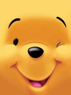 Smiling Winnie the Pooh