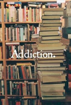 There is nothing wrong with a little book aditction