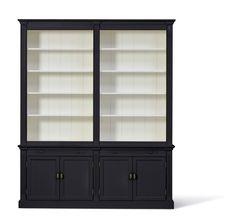 landelijke boekenkast white wash afmeting h 241 cm x b 200 cm x d 43 cm inndoors meubelen en interieur