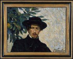 Umberto Boccioni (Italian, 1882–1916). Self-Portrait, 1905. The Metropolitan Museum of Art, New York. Bequest of Lydia Winston Malbin, 1989 (1990.38.4)