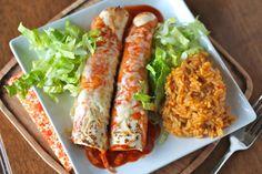 Mrs. Schwartzs Kitchen: Chicken Enchiladas