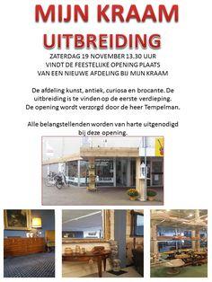 Zaterdag 19 november feestelijke opening uitbreiding Mijn Kraam in Beilen, iedereen is van harte welkom. http://koopplein.nl/middendrenthe/4935118/opening-uitbreiding-mijn-kraam-zaterdag-19-november.html