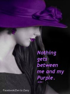 purple ....