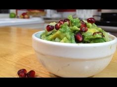 Pomegranate Guacamole - now that's being creative!