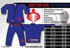 Lanky Fight Gear - The Commander