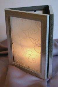 fun tutorial on how to make these luminaries out of 3 frames and vellum paper