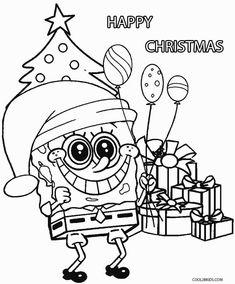 Free Printable Spongebob Squarepants Coloring Pages For ...
